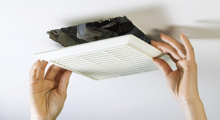 Can you vent a bathroom exhaust fan into the attic? - DIY